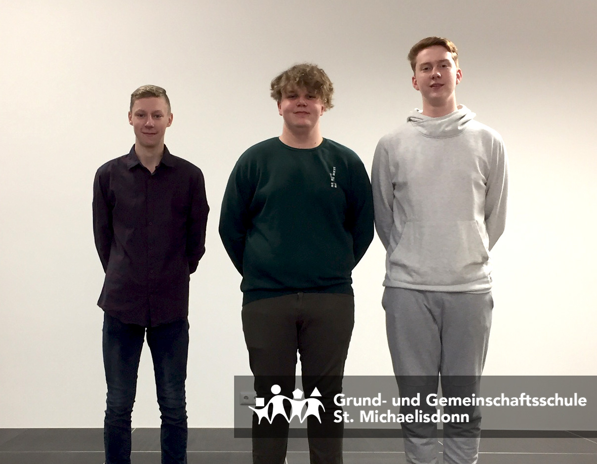Schülersprecher 2017/2018 GMS St. Michaelisdonn